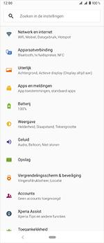 Sony Xperia 1 - Internet - handmatig instellen - Stap 4