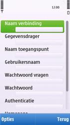 Nokia C6-00 - internet - handmatig instellen - stap 13