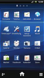 Sony Ericsson Xperia Arc S - E-Mail - Konto einrichten - Schritt 3