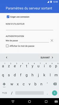 Huawei Nexus 6P - E-mail - Configurer l