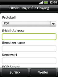 HTC A3333 Wildfire - E-Mail - Konto einrichten - Schritt 7