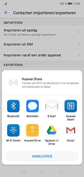 Huawei P20 Lite - Contactgegevens overzetten - delen via Bluetooth - Stap 8