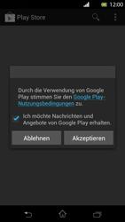 Sony Xperia T - Apps - Konto anlegen und einrichten - Schritt 16