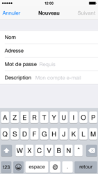 Apple iPhone 5s - iOS 8 - E-mail - Configuration manuelle - Étape 9
