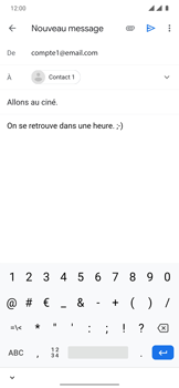 OnePlus 7T Pro - E-mails - Envoyer un e-mail - Étape 9