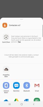 Samsung Galaxy Z Flip - contacten, foto