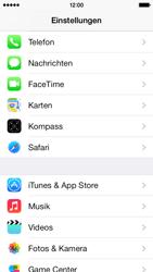 Apple iPhone 5c - Anrufe - Anrufe blockieren - Schritt 3