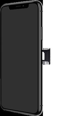 Apple iPhone X - iOS 13 - Toestel - simkaart plaatsen - Stap 5