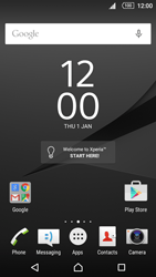 Sony Xperia Z5 Compact - Applications - Setting up the application store - Step 2