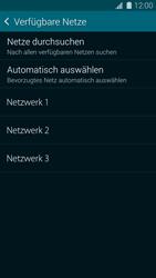 Samsung Galaxy S 5 - Netzwerk - Manuelle Netzwerkwahl - Schritt 9