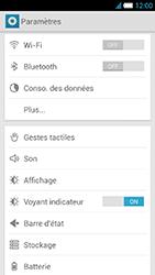 Alcatel One Touch Idol S - Réseau - Sélection manuelle du réseau - Étape 6