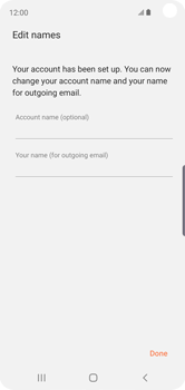 Samsung Galaxy S10e - E-mail - Manual configuration IMAP without SMTP verification - Step 18