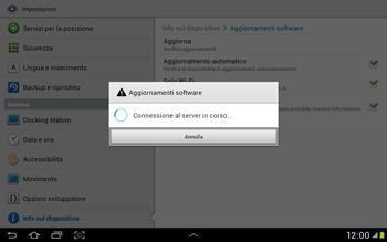 Samsung Galaxy Tab 2 10.1 - Software - Installazione degli aggiornamenti software - Fase 10
