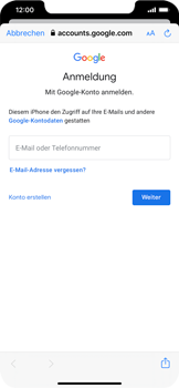 Apple iPhone 11 - E-Mail - 032a. Email wizard - Gmail - Schritt 7