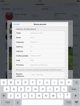 Apple iPad mini iOS 7 - Applicazioni - configurazione del negozio applicazioni - Fase 20