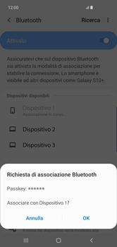 Samsung Galaxy S10 Plus - Bluetooth - Collegamento dei dispositivi - Fase 8