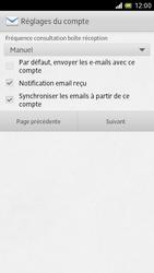 Sony LT28h Xperia ion - E-mail - Configuration manuelle - Étape 13