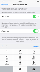 Apple iPhone 6 iOS 8 - Applicaties - Account aanmaken - Stap 17