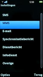 Sony Ericsson U8i Vivaz Pro - MMS - probleem met ontvangen - Stap 7
