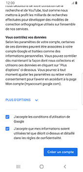 Samsung Galaxy S9 Android Pie - Applications - Créer un compte - Étape 16
