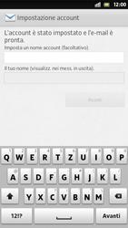 Sony Xperia S - E-mail - Configurazione manuale - Fase 15
