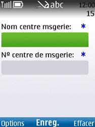 Nokia C2-01 - SMS - configuration manuelle - Étape 7