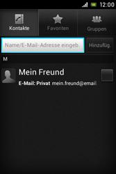 Sony Xperia E - E-Mail - E-Mail versenden - 6 / 16