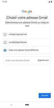Google Pixel 3 - Applications - Créer un compte - Étape 11