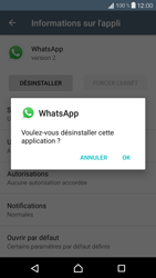 Sony Xperia X Compact - Applications - Comment désinstaller une application - Étape 7