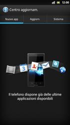 Sony Xperia S - Software - Installazione degli aggiornamenti software - Fase 7