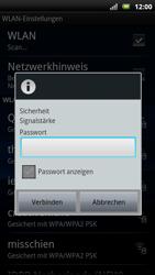 Sony Ericsson Xperia X10 - WLAN - Manuelle Konfiguration - Schritt 8