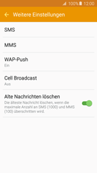 Samsung Galaxy A5 (2016) - SMS - Manuelle Konfiguration - 0 / 0