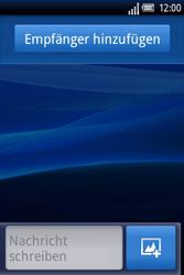 Sony Ericsson Xperia X8 - MMS - Erstellen und senden - Schritt 6