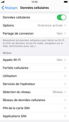 Apple iPhone SE (2020) - Internet et roaming de données - Désactivation du roaming de données - Étape 4