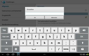 Samsung Galaxy Tab 2 10.1 - Internet und Datenroaming - Manuelle Konfiguration - Schritt 22