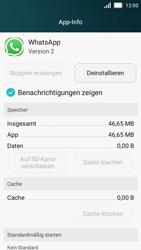 Huawei Y5 - Apps - Eine App deinstallieren - Schritt 5