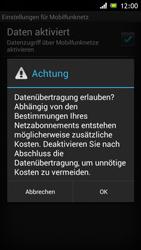 Sony Xperia J - Internet und Datenroaming - Manuelle Konfiguration - Schritt 7