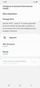 Samsung Galaxy S20 5G - WiFi - Comment activer un point d'accès WiFi - Étape 8