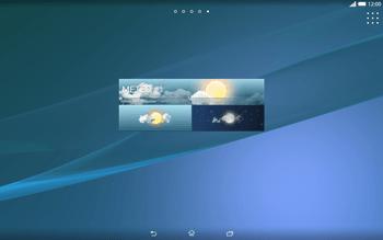 Sony Xperia Tablet Z2 LTE - Operazioni iniziali - Installazione di widget e applicazioni nella schermata iniziale - Fase 9