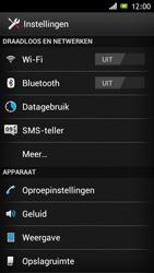 Sony C6603 Xperia Z - bluetooth - aanzetten - stap 4