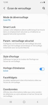 Samsung Galaxy A20e - Sécurité - activéz le code PIN de l'appareil - Étape 13