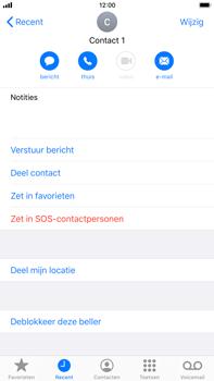 Apple iphone-7-plus-met-ios-13-model-a1784 - Beveiliging en ouderlijk toezicht - Nummer blokkeren - Stap 7
