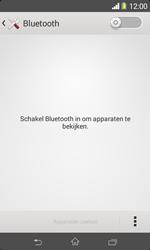 Sony D2005 Xperia E1 - bluetooth - aanzetten - stap 5