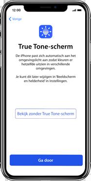 Apple iphone-xs-max-met-ios-13-model-a1921 - Instellingen aanpassen - Activeer het toestel en herstel jouw iCloud-data - Stap 27