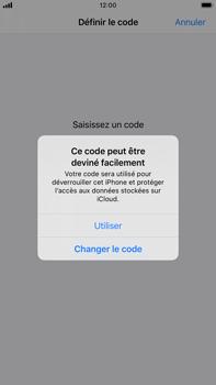 Apple iPhone 6s Plus - iOS 13 - Sécurité - activéz le code PIN de l'appareil - Étape 6