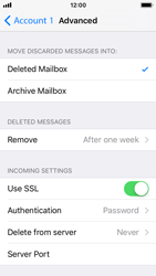 Apple iPhone 5s - iOS 11 - Email - Manual configuration POP3 with SMTP verification - Step 22