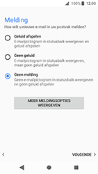Sony Xperia XA2 - E-mail - e-mail instellen: POP3 - Stap 20