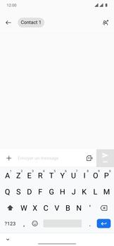 OnePlus 7T Pro - Contact, Appels, SMS/MMS - Envoyer un SMS - Étape 7