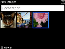 BlackBerry 8520 - Photos, vidéos, musique - Envoyer une photo via Bluetooth - Étape 10