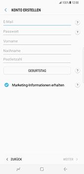 Samsung Galaxy S8 Plus - Datenschutz und Sicherheit - Samsung einrichten - 9 / 18
